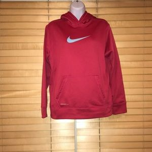 Nike Pink Hoodie Pull Over Sweater